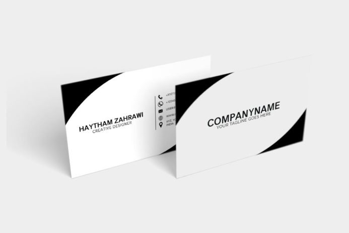 Free Creative Minimal Business Card