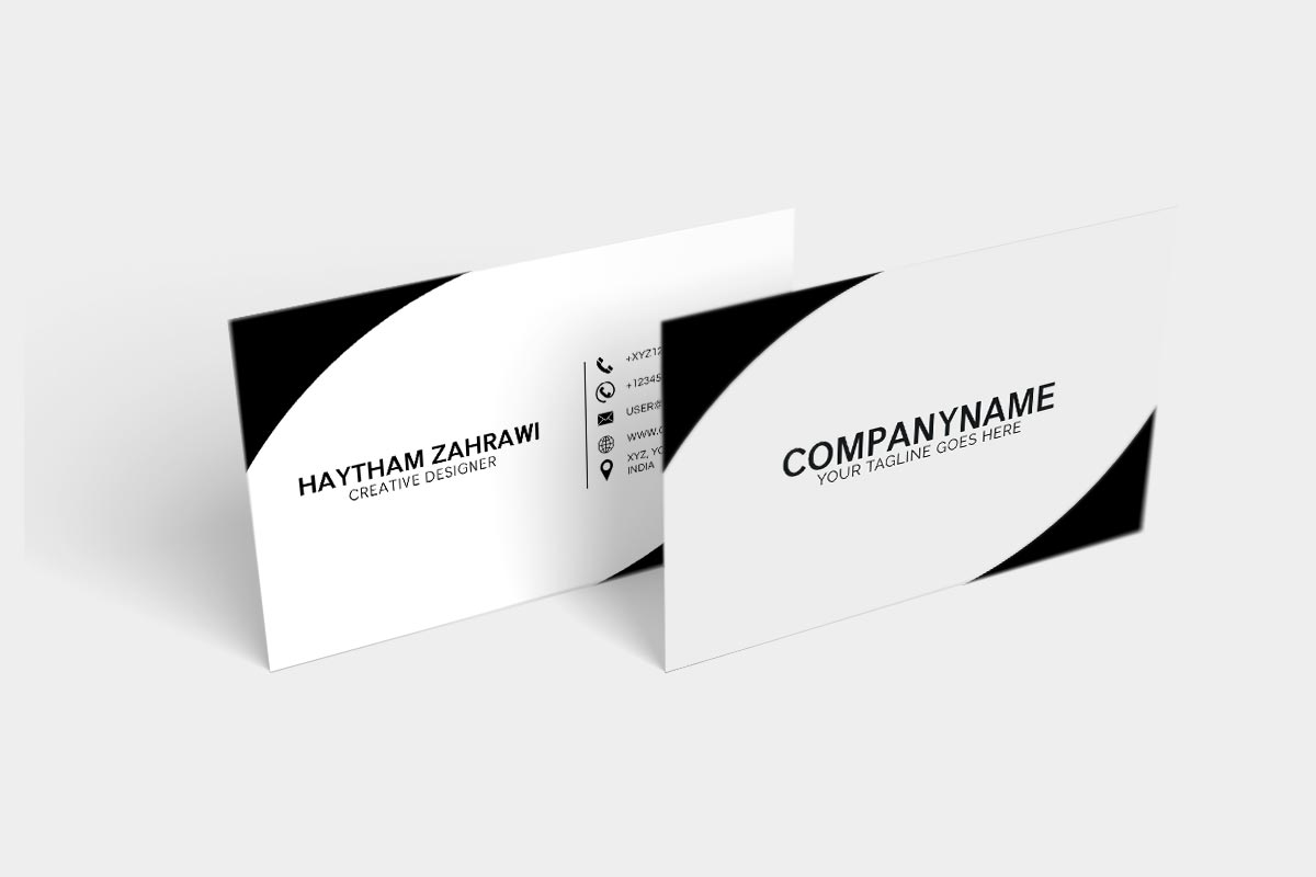 Free creative minimal business card creativetacos home free creative minimal business card reheart Images