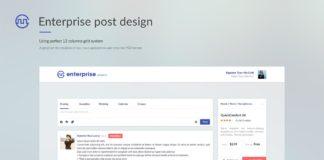 Free Enterprise Post Design PSD