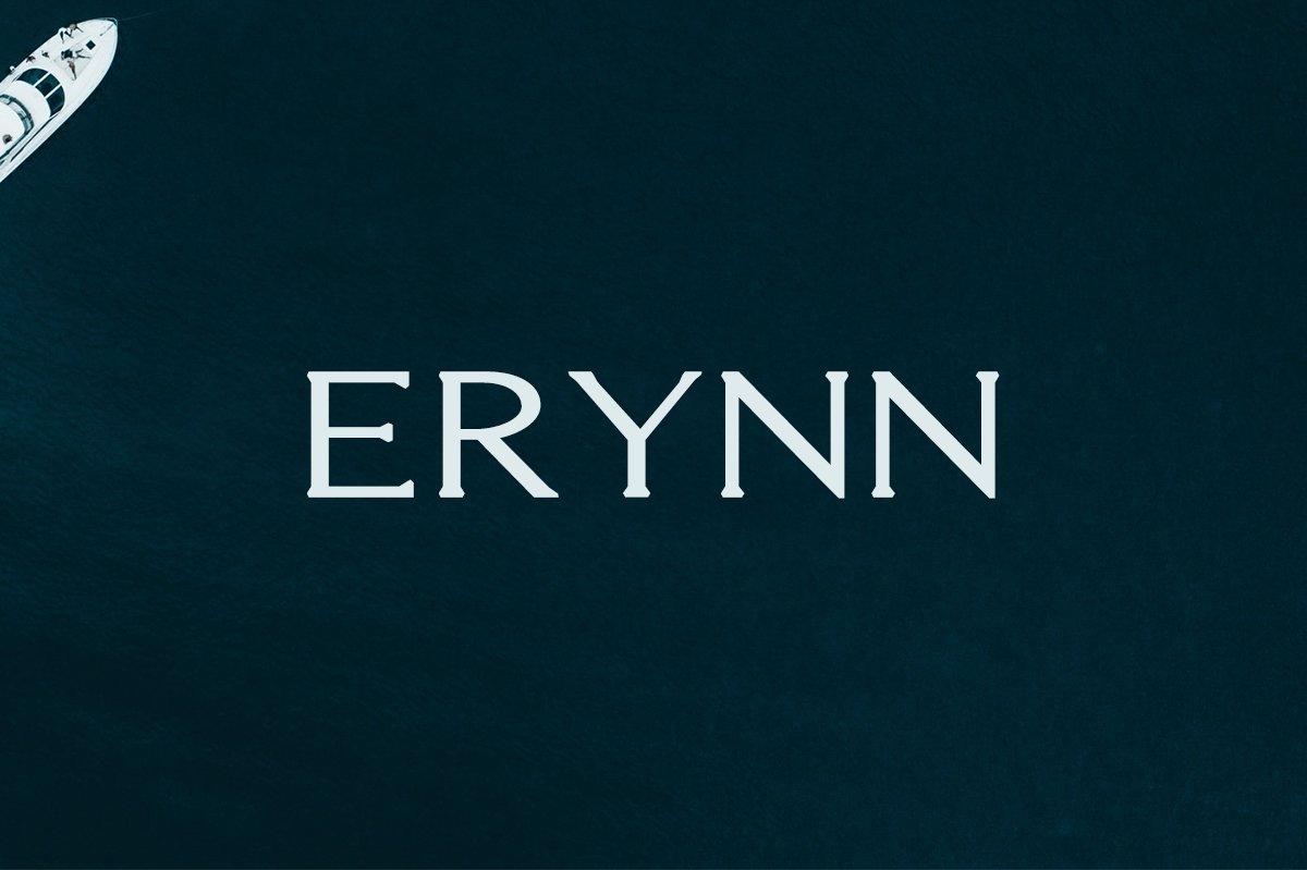 Free Erynn Serif Demo Font