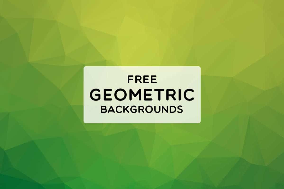 3 Free Geometric Backgrounds