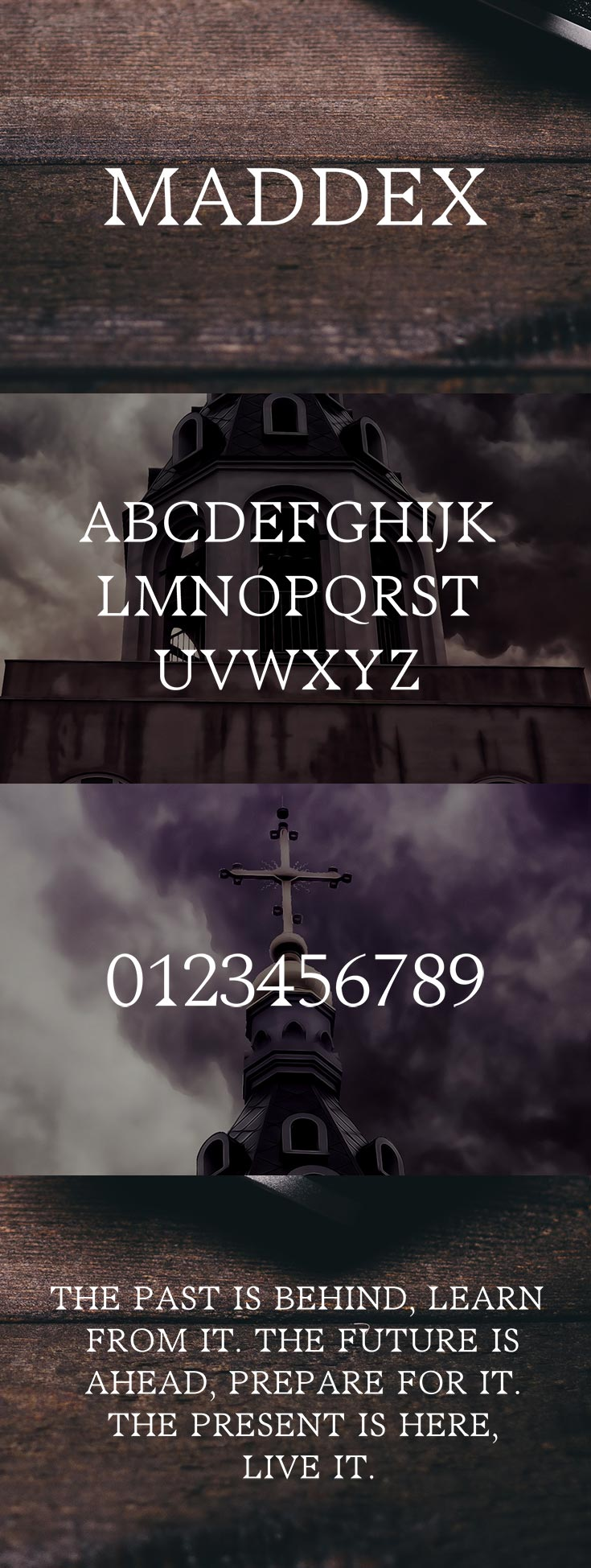 Free Maddex Serif Font