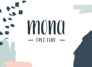 Free Mona Handdrawn Font