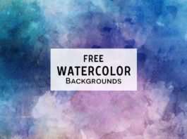 3 Free Watercolor Textured Backgrounds