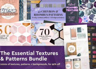 The Essential Textures and Patterns Bundle Just $29