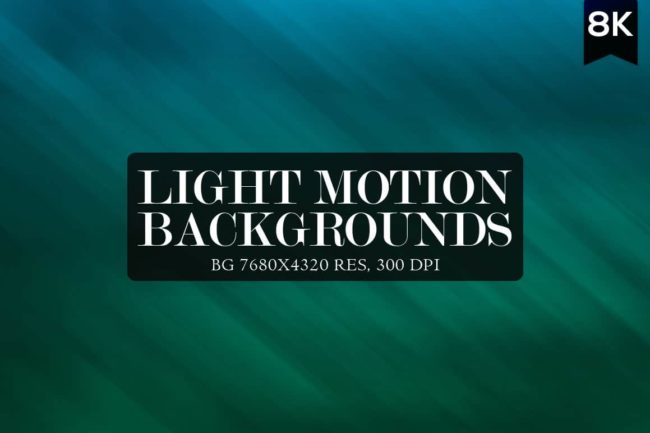 12 Light Motion Backgrounds