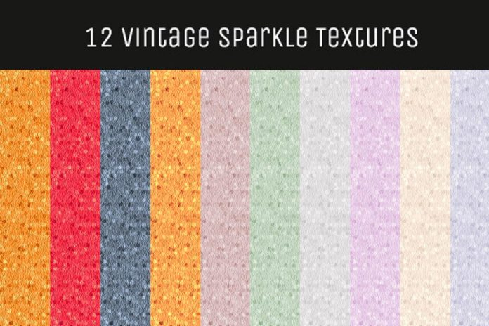 12 Vintage Sparkle Textures