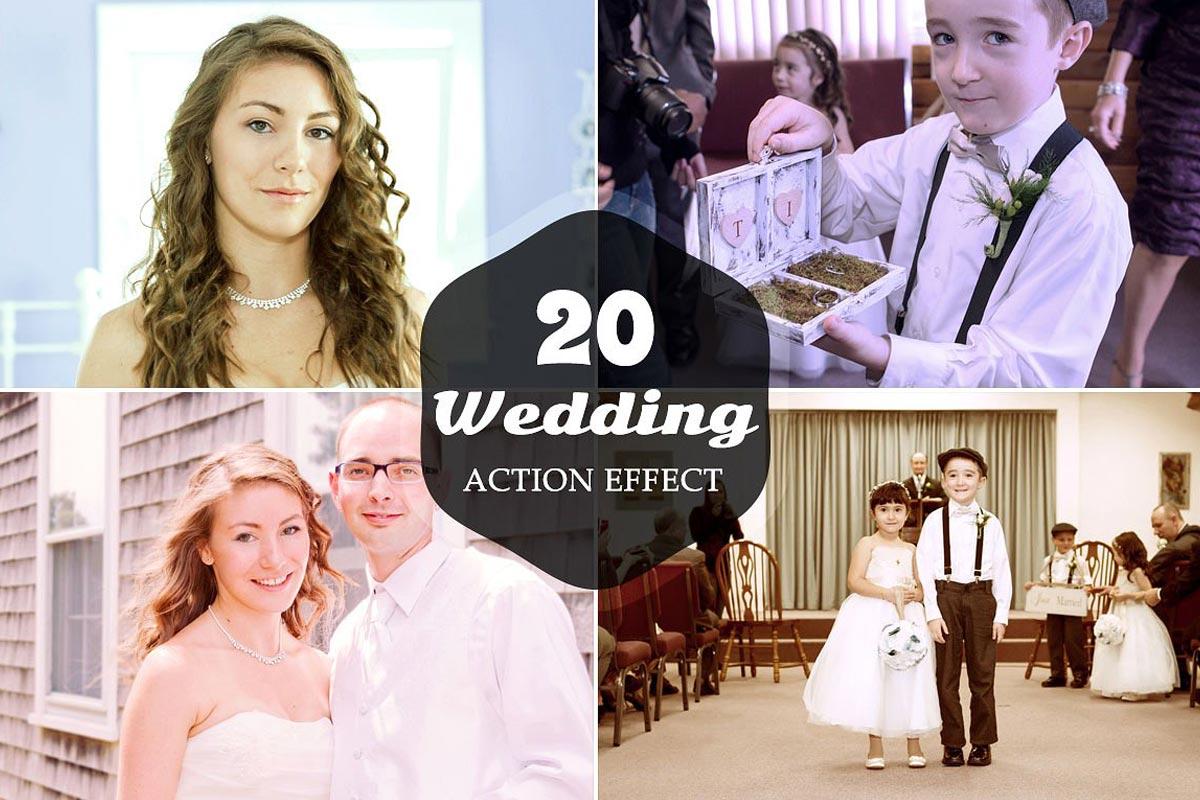 20 Free Wedding Photo Actions Ver 1
