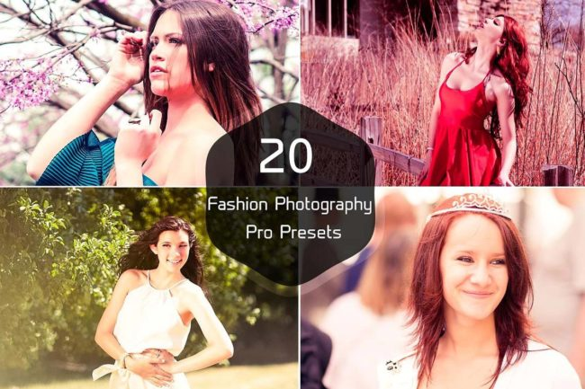 20 Free Fashion Lightroom Presets