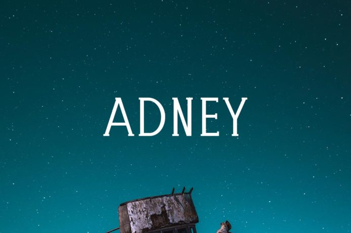 Free Adney Slab Serif Font