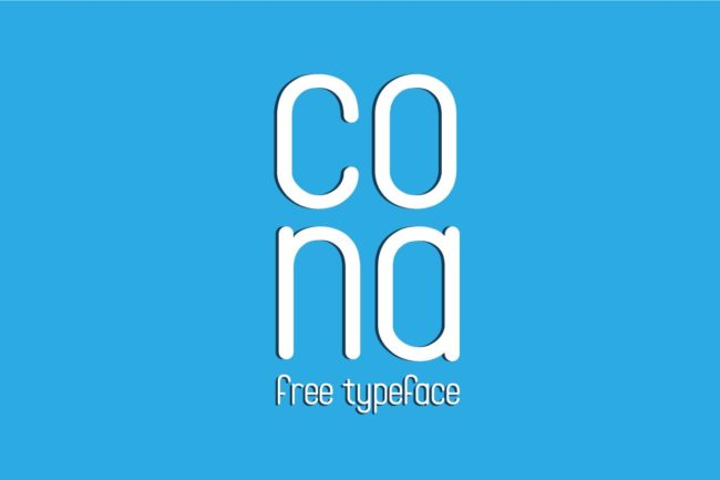 Free Cona Display Font