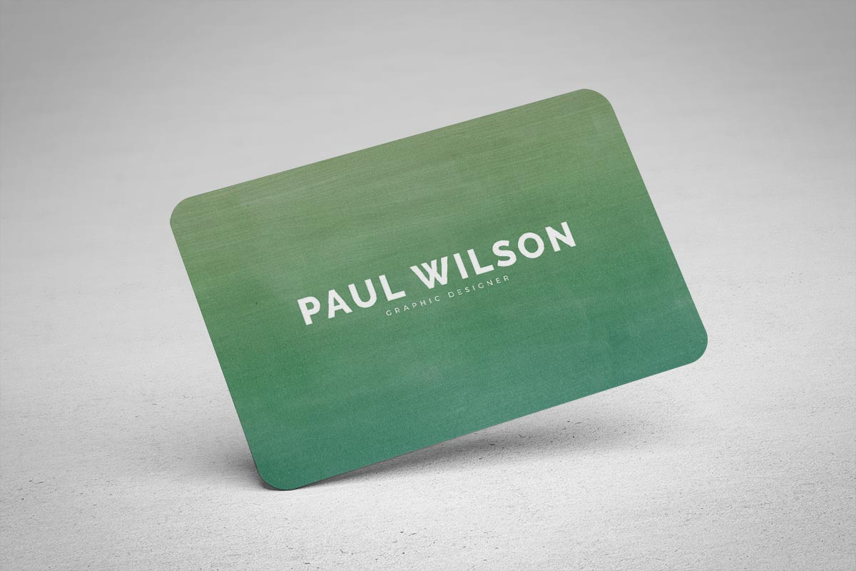 Free Graphic Design Business Card