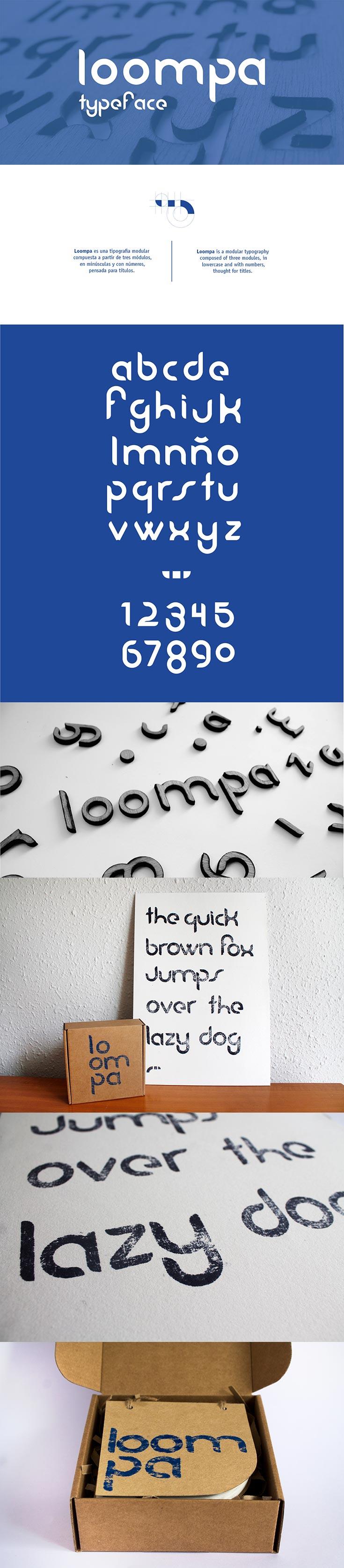 Free Loompa Font