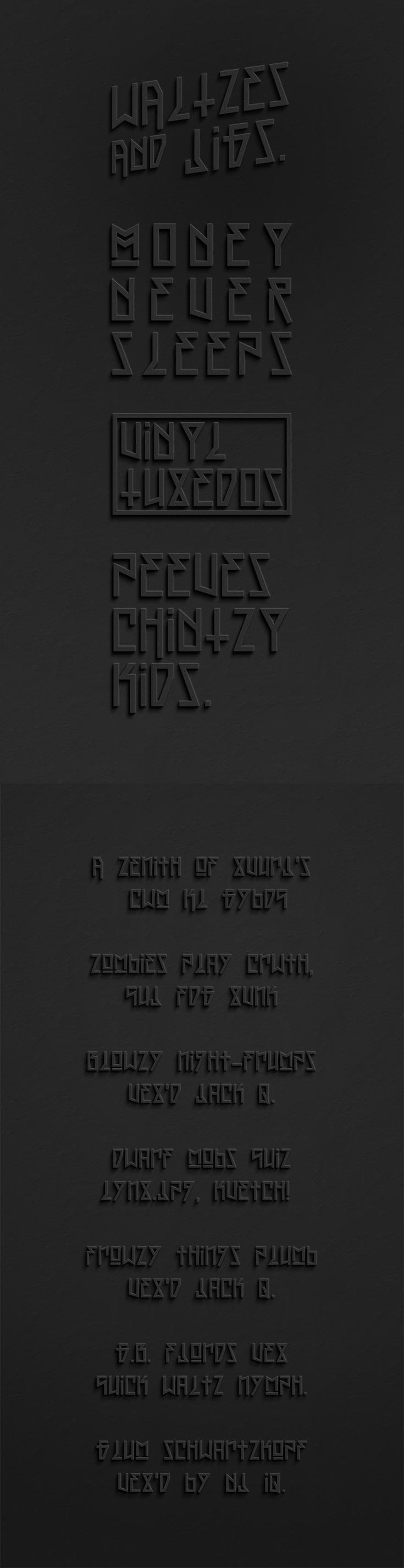 Free OFF Display Font