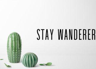 Free Stay Wanderer Sans Serif Font