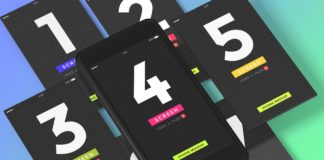Free iPhone Mobile Screens Mockups