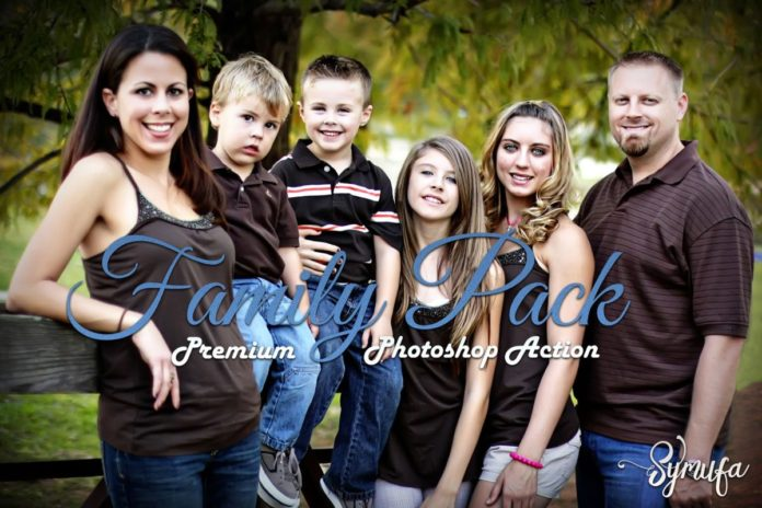 Family Pack Photoshop Actions