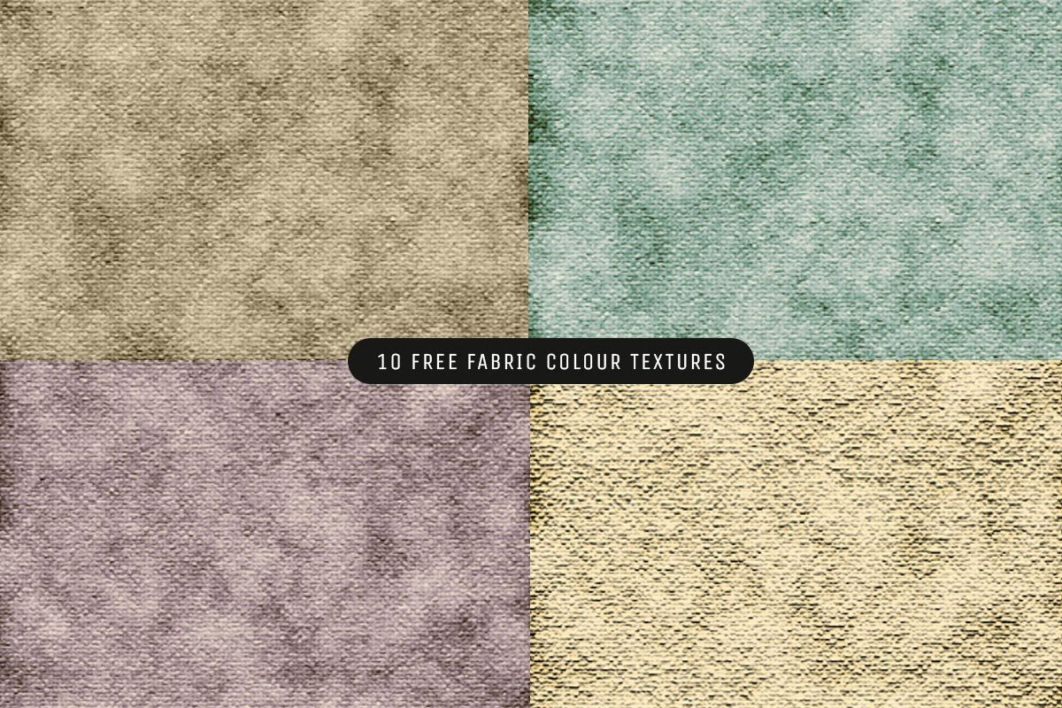10 Free Fabric Colour Textures