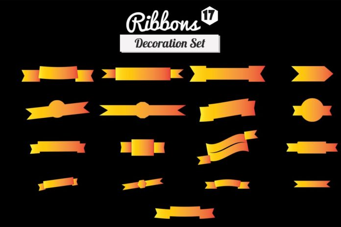 17 Free Ribbons Decoration Set