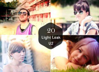 20 Free Light Leak Lightroom Presets Ver. 2