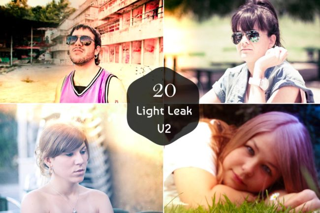 20 Free Light Leak Lightroom Presets Ver. 2