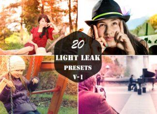 20 Free Light Leak Lightroom Presets Ver. 1