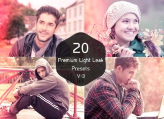 Free Light Leak Lightroom Presets