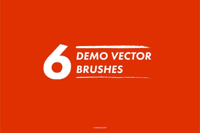 6 Free Demo Vector Brushes