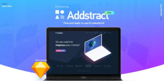 Free Addstract UI Kit