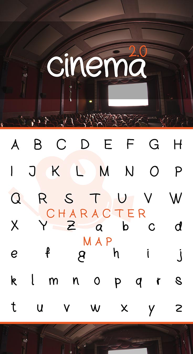 Free Cinema Handwritten Font