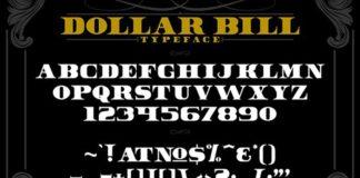 Dollar Bill Serif Font