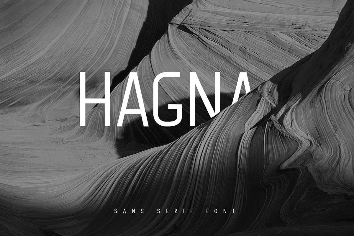Free Hagna Sans Serif Font