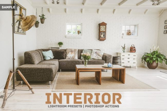 Free Interior Lightroom Presets