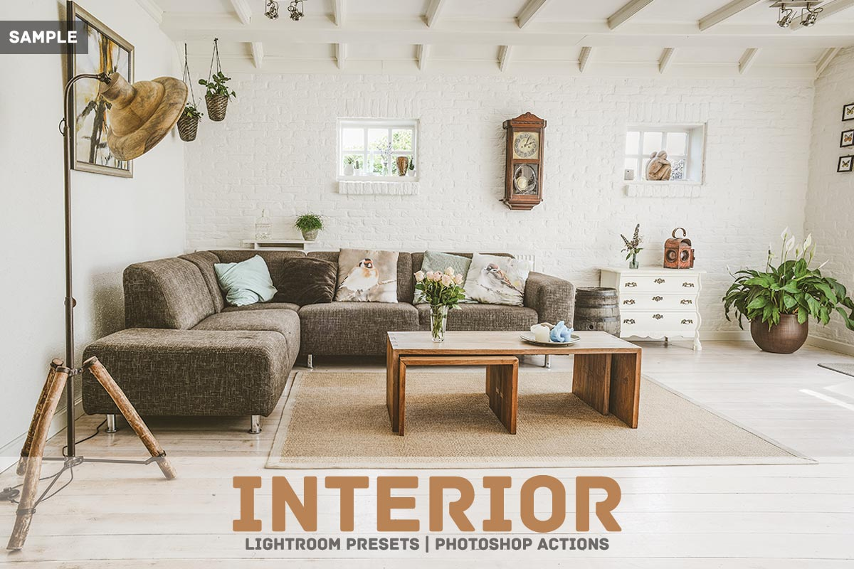 Free Interior Lightroom Presets For Interior Designers