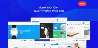 Free Mediamarket Electronics eCommerce PSD Template