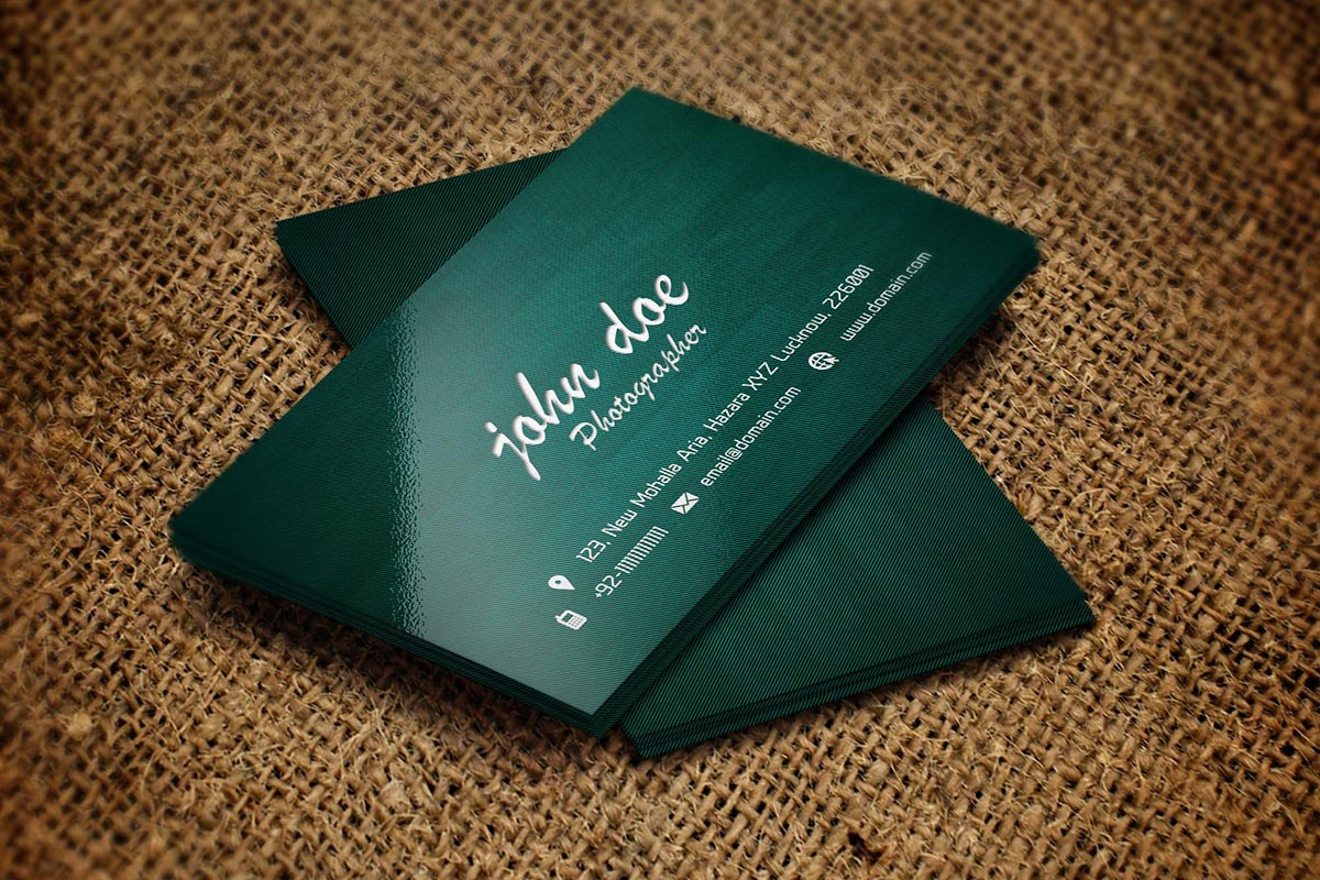 Free Creative Photography Business Card — Creativetacos