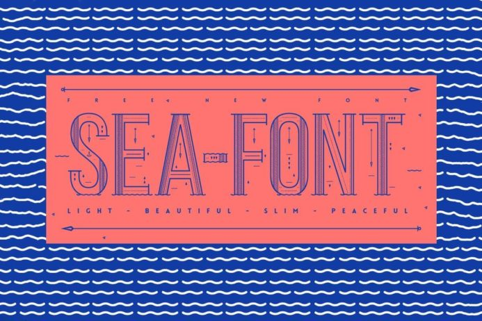 Free Sea Display Font