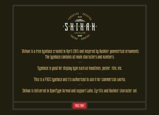 Free Shihan Slab Serif Font