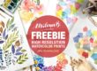 Free Watercolor Prints