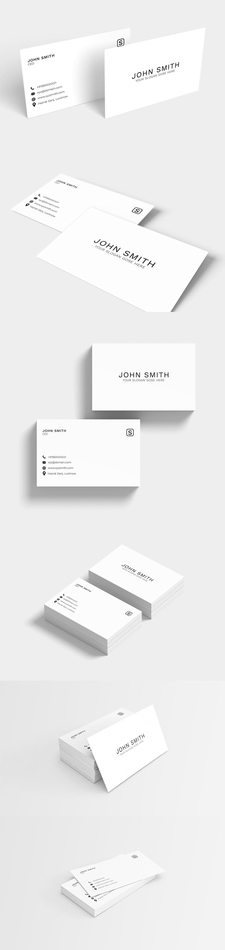 Free Simple Minimal Business Card — Creativetacos