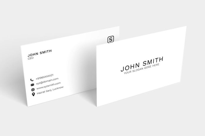 Free Simple Minimal Business Card
