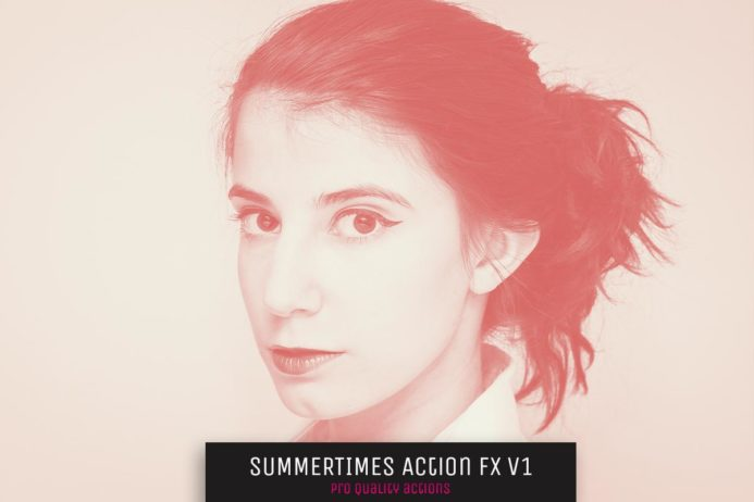 Free Summer Times Photoshop Actions FX V1