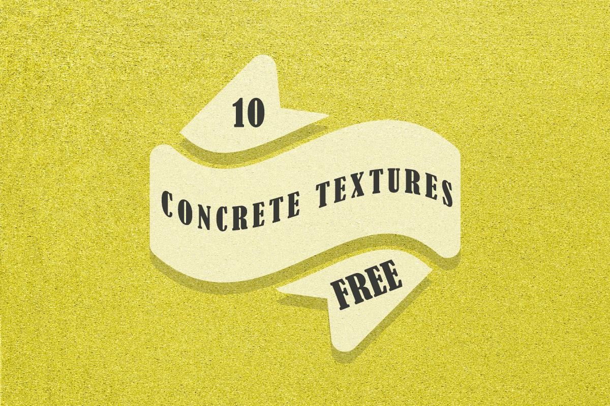 10 Free Concrete Textures