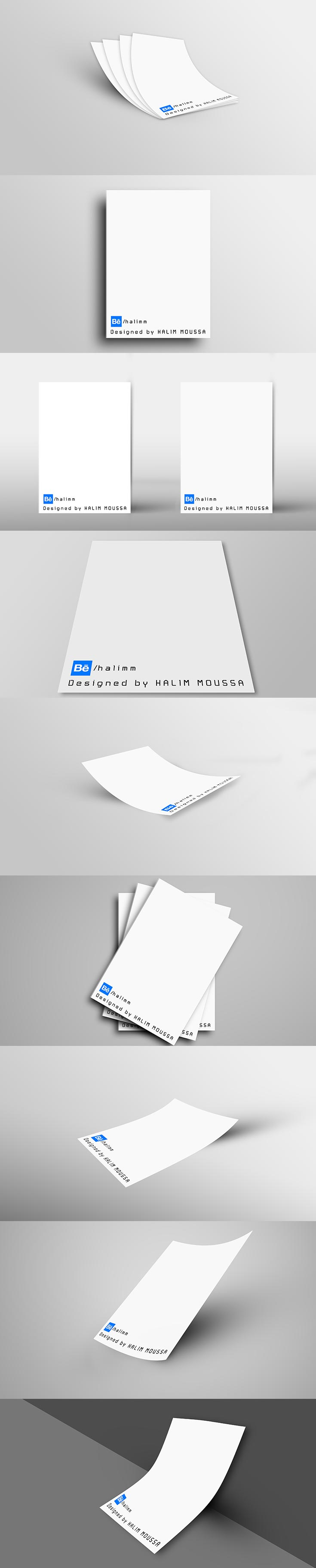 10 Free Correspondence Paper Mockup PSD is a high quality mockup that you can use to display your branding or other stuff that can be printed.
