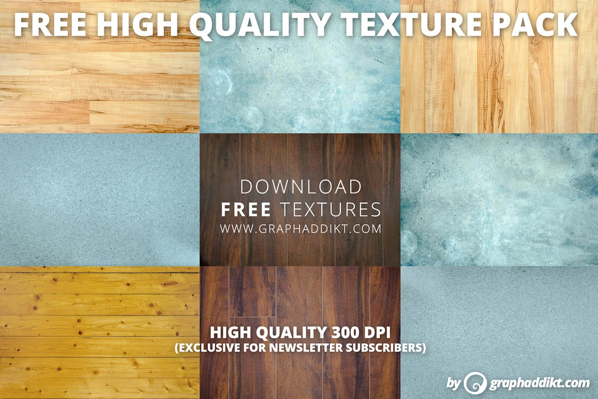 10 Free High Quality Texture Pack