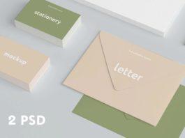 2 Free Branding Stationery Mockups