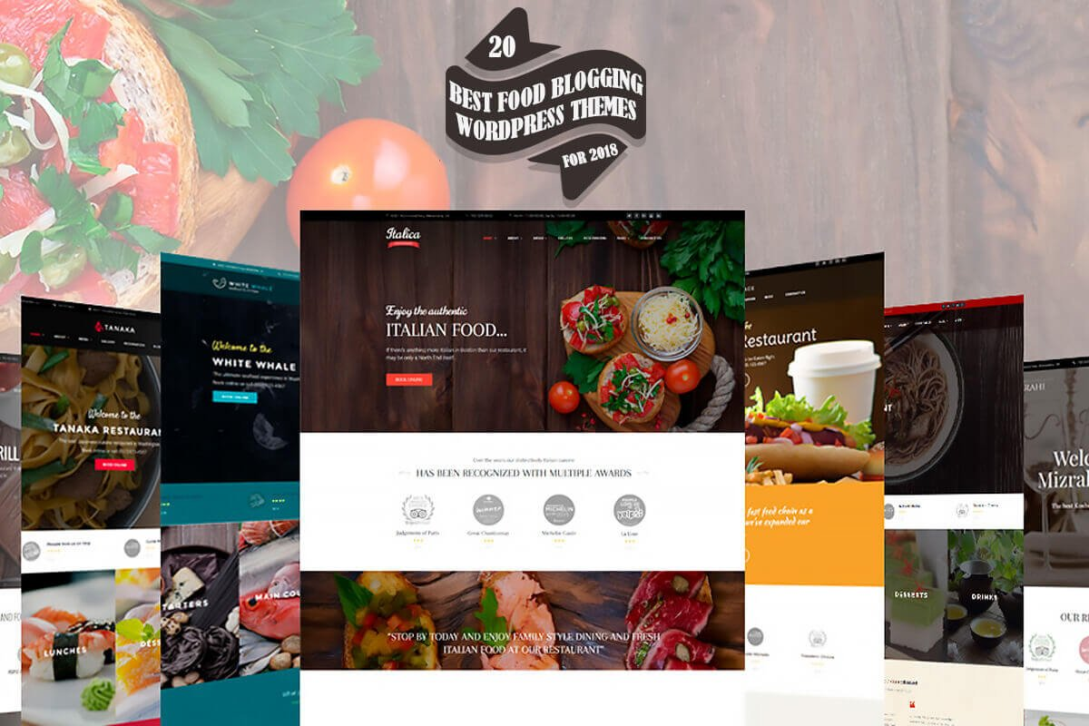 20 Best Food Blogging WordPress Themes For 2018 Creativetacos