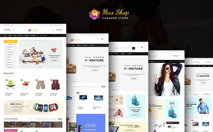 Maxshop - Responsive WordPress Woocommerce Theme WooCommerce Theme