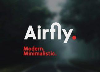 Free Airfly Sans Serif Font