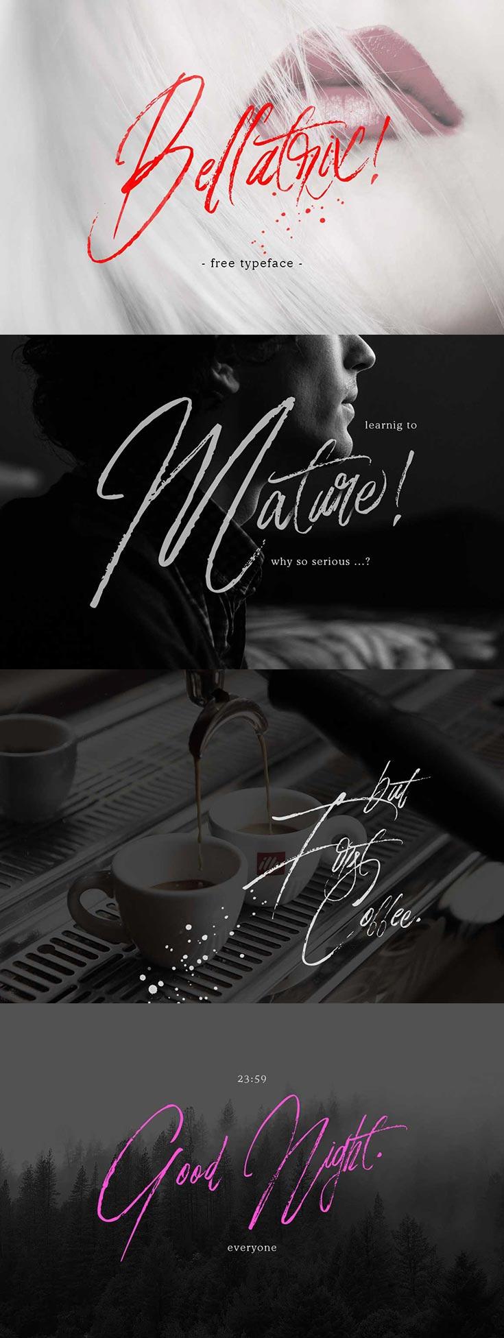 Free Bellatrix Script Font
